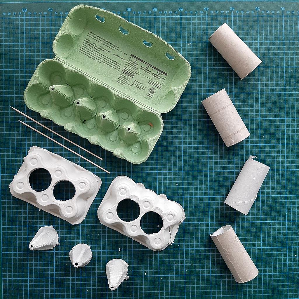 Recycling – Bastelprojekte für Kinder